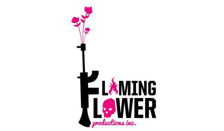 flaming flower productions logo