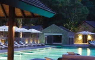 destination honeymoon tropical night resort