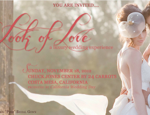California Wedding Day: The Look of Love on November 18