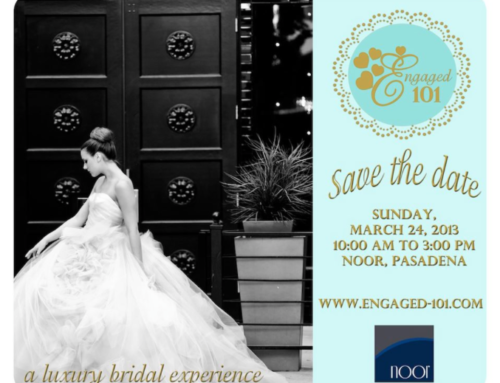 Engaged 101 Save the Date: March 24