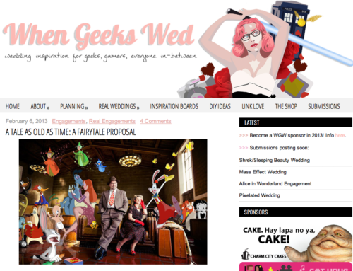 Callaway Gable Featured on When Geeks Wed