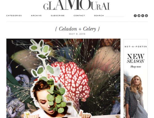 Celadon & Celery Featured on The Glamourai