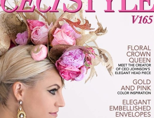 Celadon & Celery and R-Mine Bespoke Featured in CeciStyle Magazine