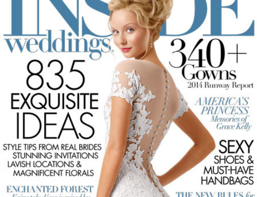 Vibiana Featured in Inside Weddings!