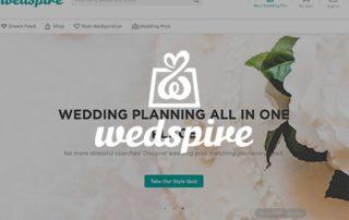 Wedspire Website