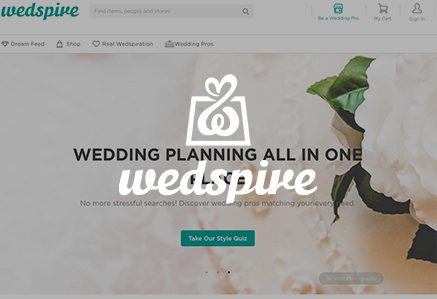 Wedspire Website