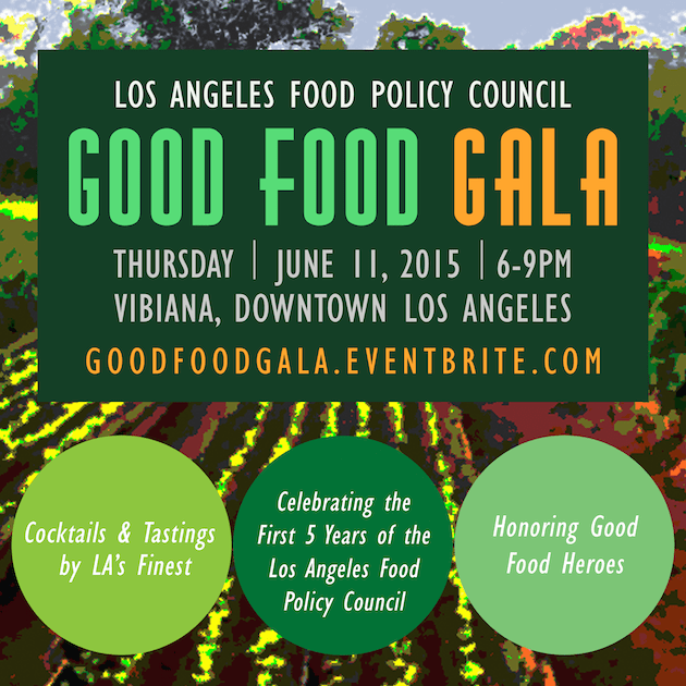 Good food gala at vibiana rayce pr for Los angeles innovation consultants