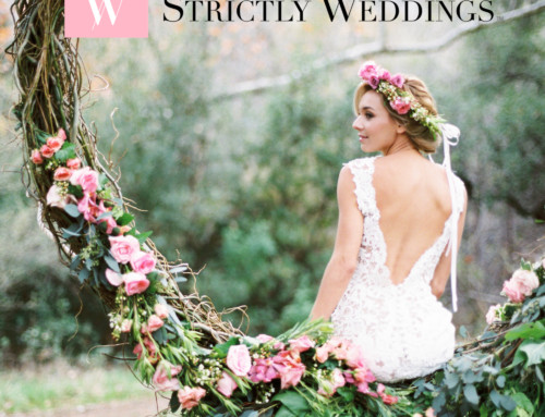 Bohemian Spring Wedding Featured on Strictly Weddings
