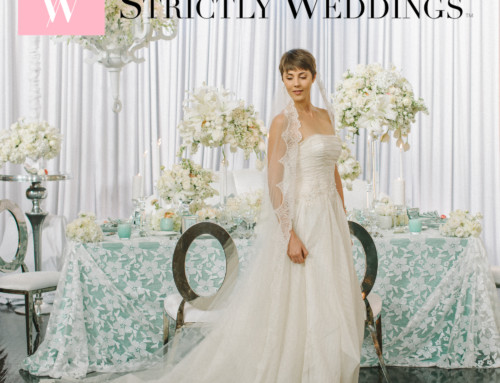 "LUXE Launch 2016: ""Iridescent Allure""  Strictly Weddings Feature"