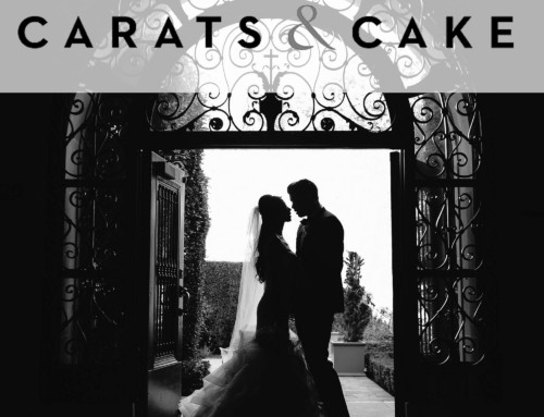 Featured on Carats and Cake – Vibiana White Wedding