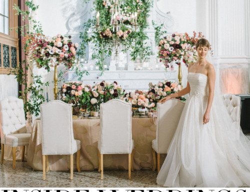 "LUXE Launch 2016: ""Hibiscus Glitz"" Featured on Inside Weddings"