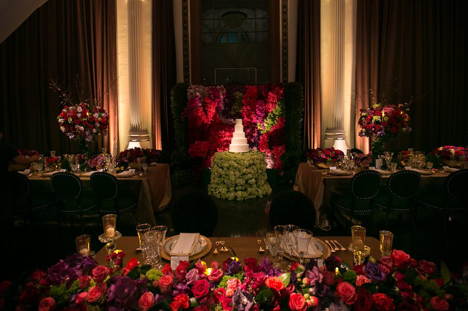 Lush Vibiana Garden Wedding Featured on Grace Ormonde