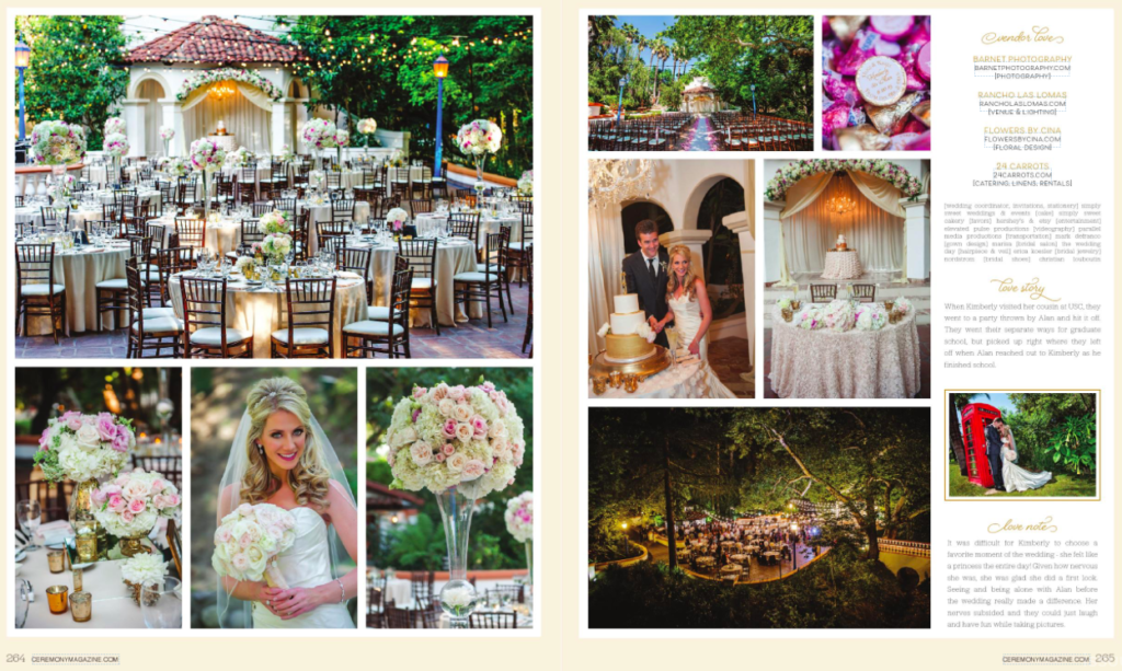 Flowers By Cina Featured Ceremony Magazine