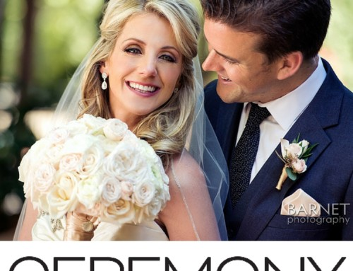 Blush Wedding by Flowers By Cina Featured in Ceremony Magazine OC