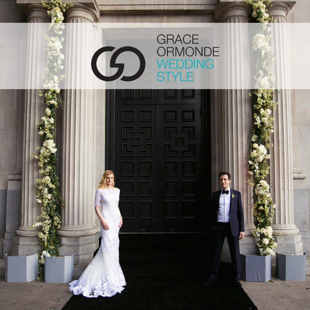 Lush Vibiana Garden Wedding Featured on Grace Ormonde