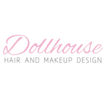 Dollhouse hair and makeup Square logo