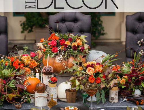 Fall Wedding Tablescape Featured on Elle Decor