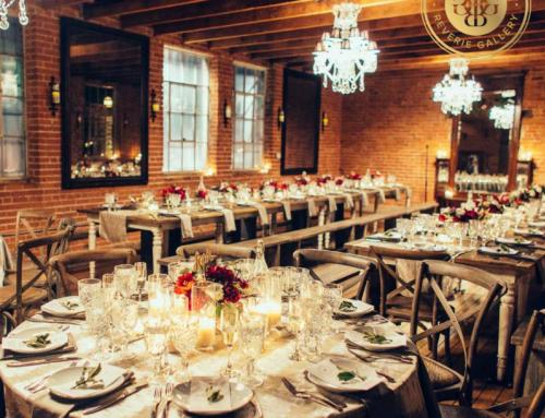 Bold Winter Carondelet House Wedding on Reverie Gallery