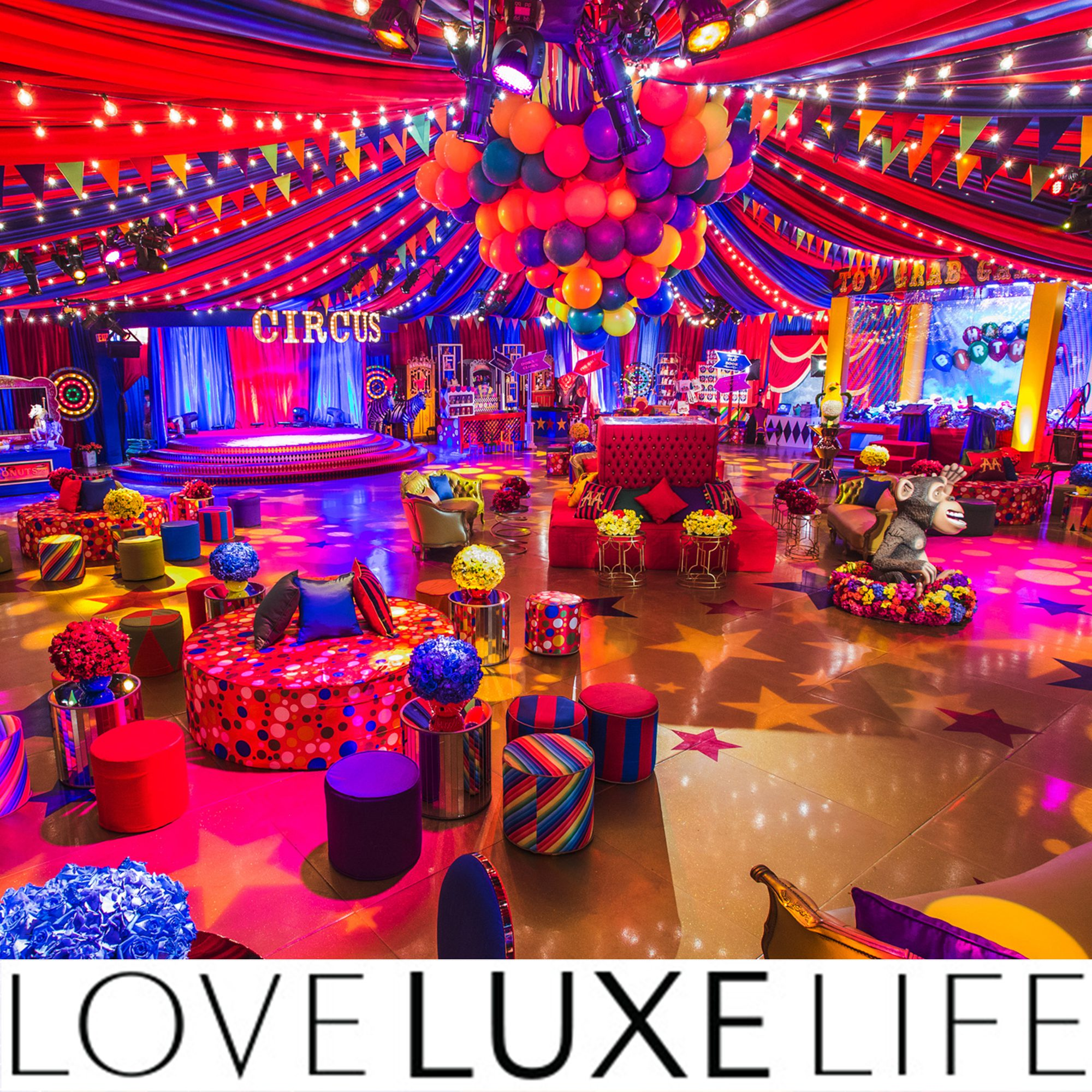 Event: Circus Themed Party Featured In Love Luxe Life