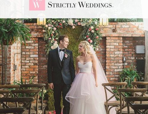 Vintage Glam Carondelet Shoot on Strictly Weddings