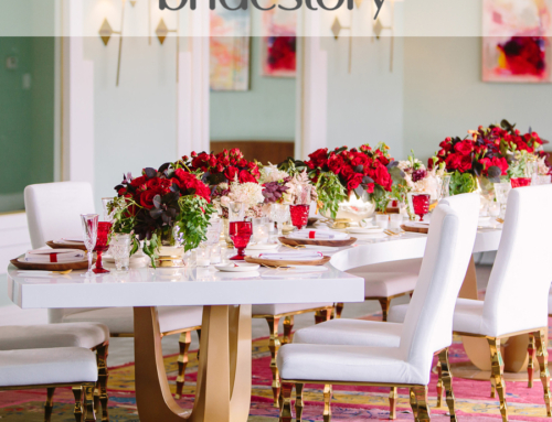 Glam Hollywood Wedding Featured on Bridestory