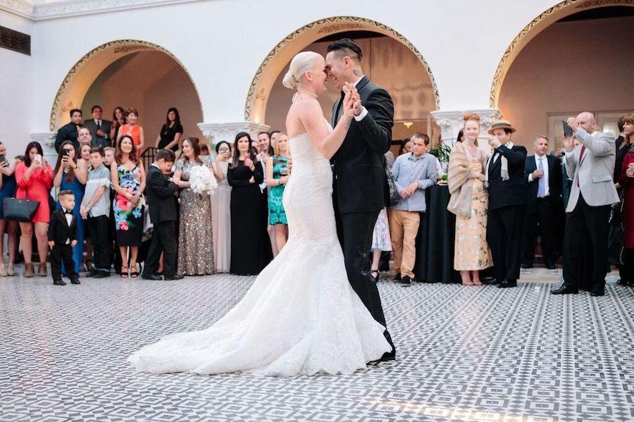 Black and White Ebell Long Beach Wedding on Reverie Gallery - Rayce PR