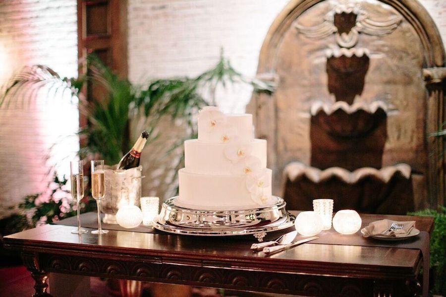 Black and White - Wedding Cake