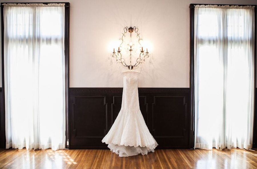 Black and White - Wedding Dress Display