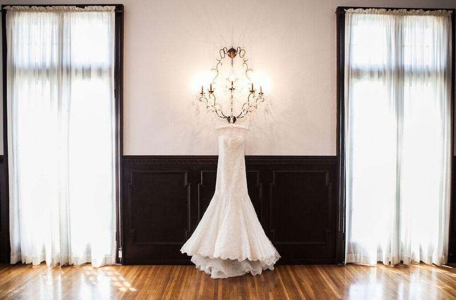 Black and White - Wedding Dress Display