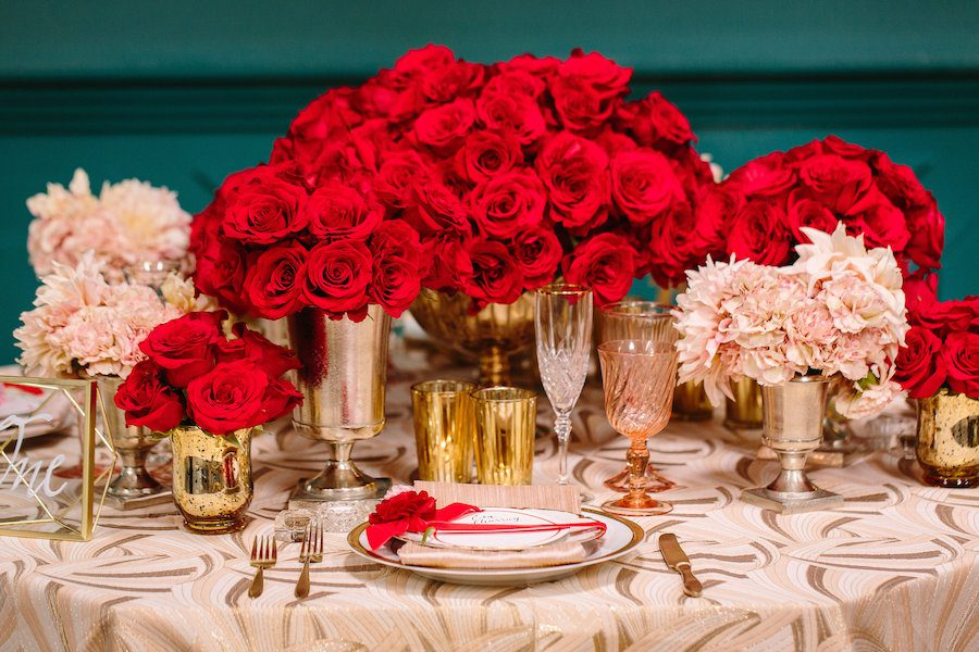 Glamorous Red Wedding  Bride Story