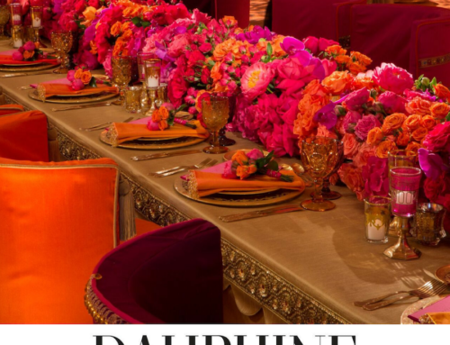 Mark's Garden Indian Themed Dinner Party in Dauphine Magazine