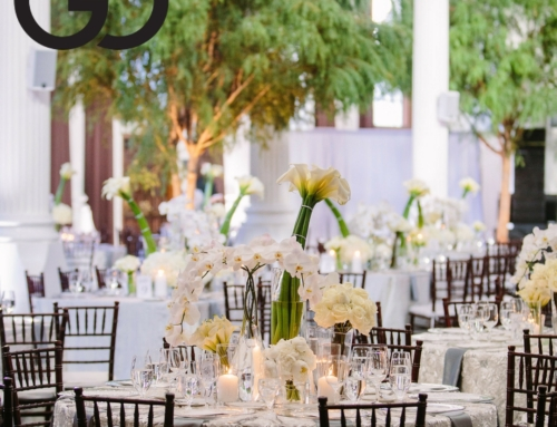 Modern Vibiana Wedding Featured on Grace Ormonde