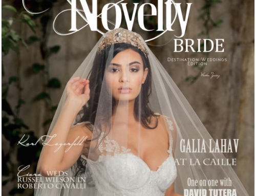 Eddie Zaratsian featured on Novelty Bride Magazine