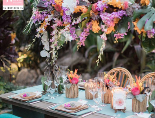 Tropical Destination Wedding Inspiration Featured on Strictly Weddings
