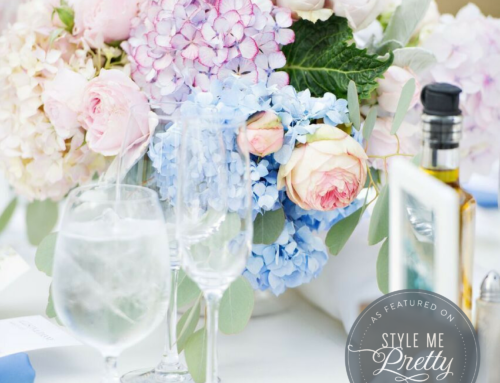 L'Relyea Events Featured on Style Me Pretty