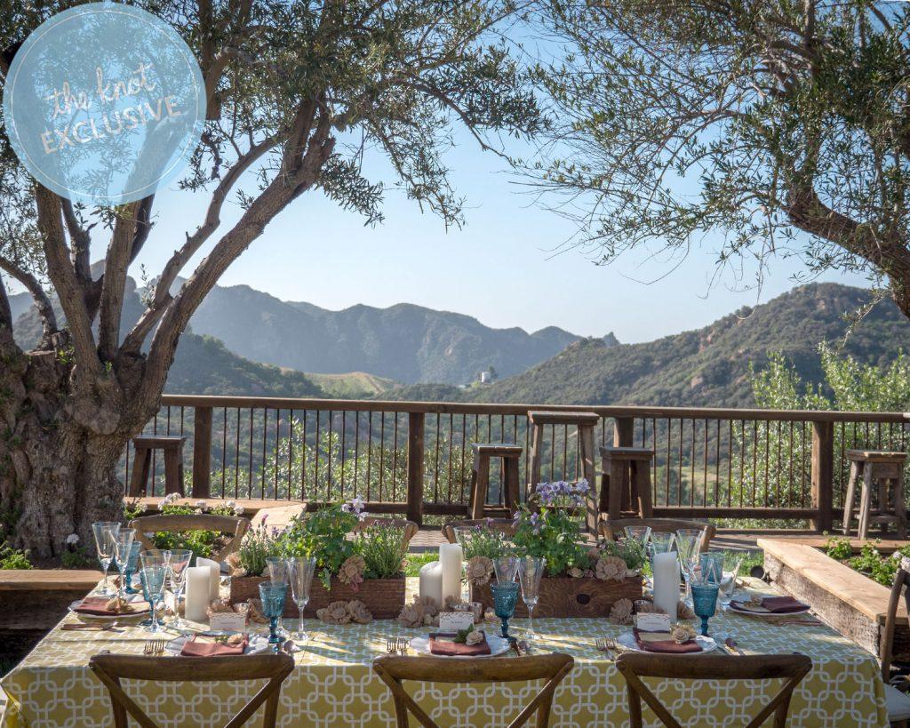 david tutera, reherasal dinner, the knot, cielo farms, premiere party rents