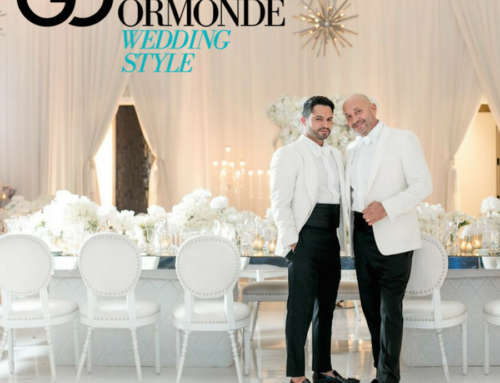 Edgar Zamora of Revelry Event Designer's Wedding Featured on Grace Ormonde Wedding Style