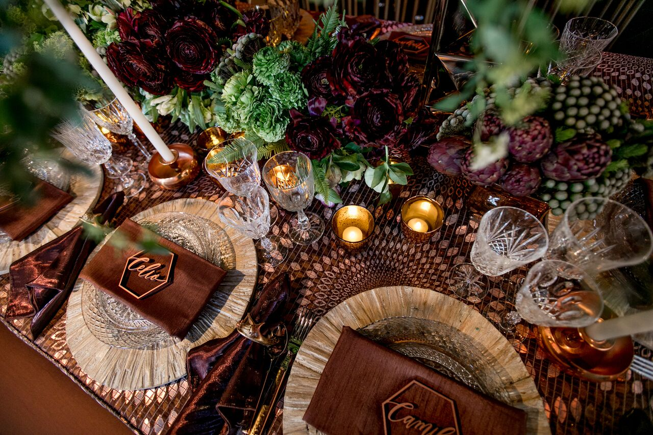 table design, tabletop, wedding table design,