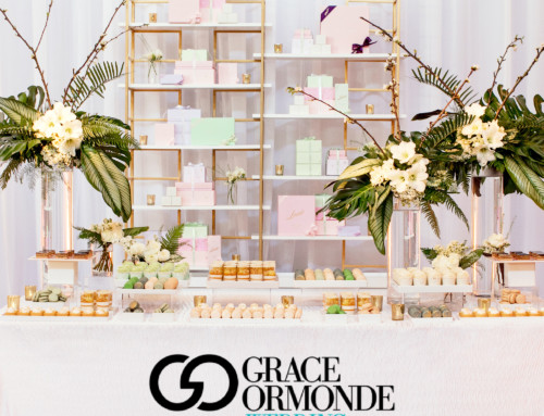 Luxe Linen Launch with Bottega Louie Desserts Featured in Grace Ormonde