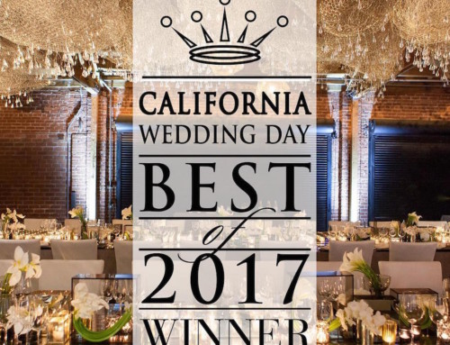 "Shawna Yamamoto Event Design Wins ""Best Event Decor in OC"" by California Wedding Day"