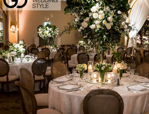 "Luxe Linen's ""Secret Garden"" Wedding Featured in Grace Ormonde"