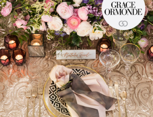 A Good Affair and Nisie's Enchanted LUXE Launch Tabletop Featured in Grace Ormonde