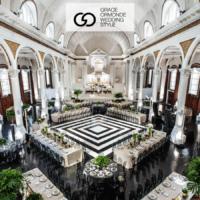 grace-ormonde-vibiana-black and white wedding