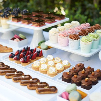 Bottega Louie catering items