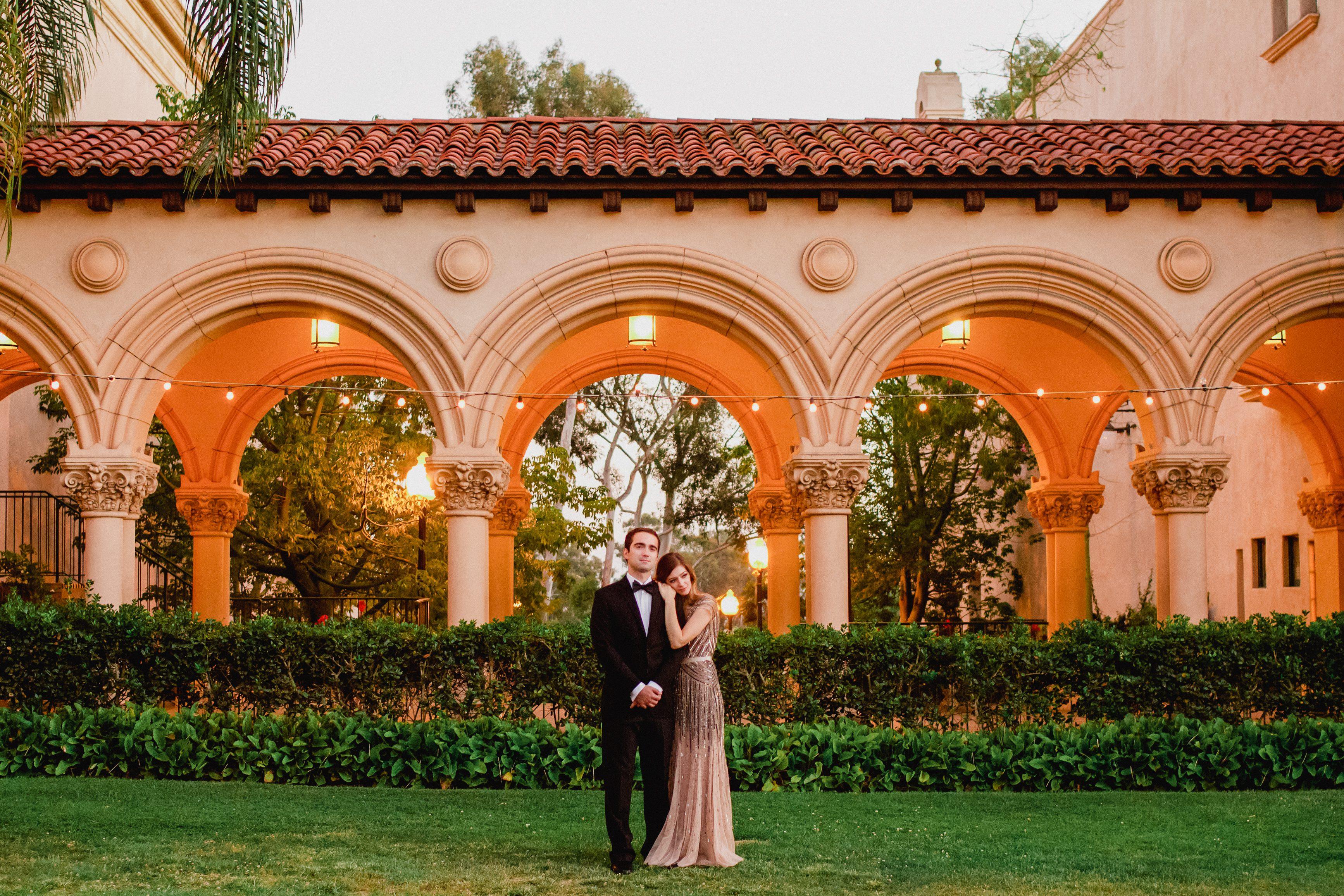 Balboa park wedding photos The Prado at Balboa Park Restaurant - San Diego, CA
