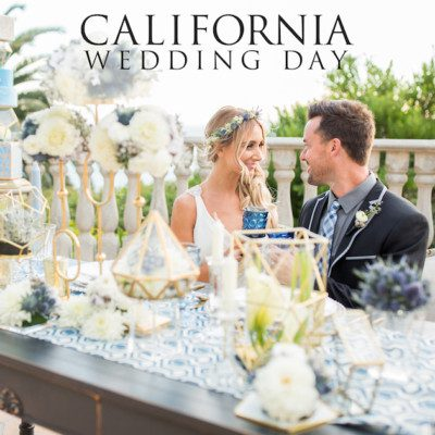 Translucent, Geometric, Styled Shoot, California Wedding Day