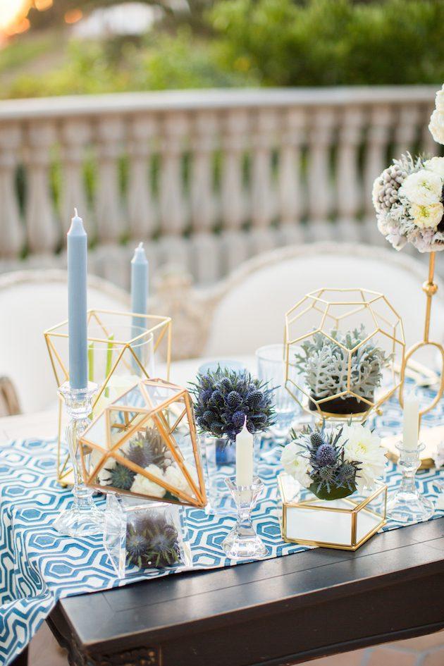 Translucent, Geometric, Styled Shoot, California Wedding Day
