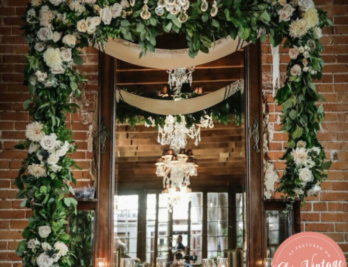 Vintage Inspired Wedding Featured on Vintage Chic Brides