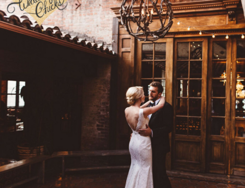 Romantic Candle Lit Wedding at Carondelet House Featured on Wedding Chicks