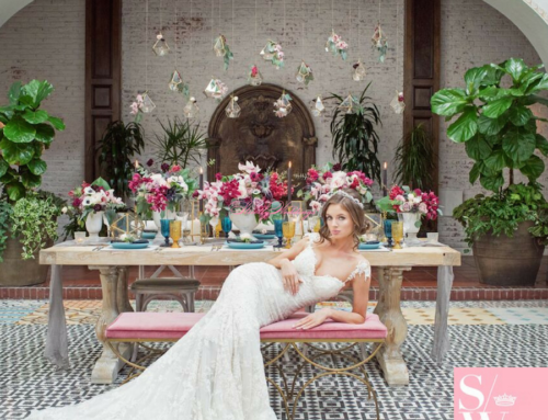 Vibrant and Rich Styled Shoot Featured on Strictly Weddings